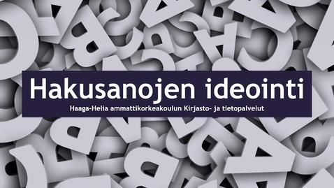 Hakusanojen_ideointi