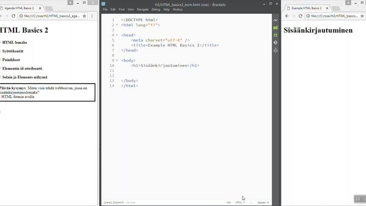 Thumbnail for channel JavaScript-kielen perusteet