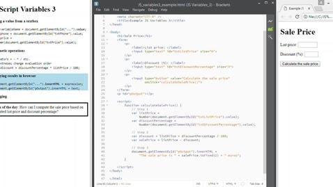 Thumbnail for entry JS Variables 3 Debugging