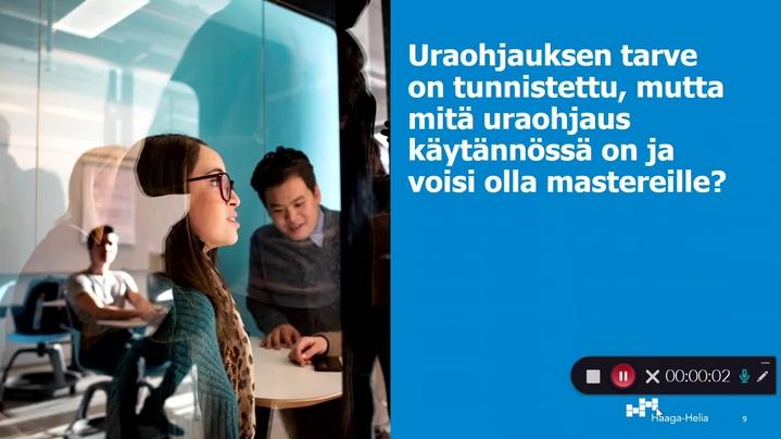 Thumbnail for channel Master-juttuja Sanna & ohjaustiimi