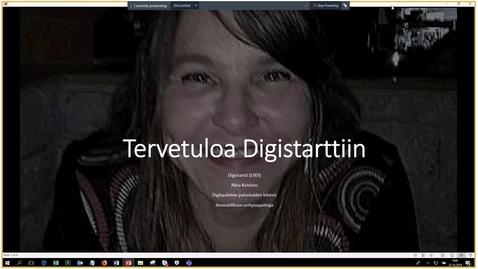 Thumbnail for entry Digistartti-intro