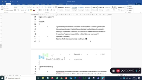 Thumbnail for entry Bullet-listat standardimuotoon