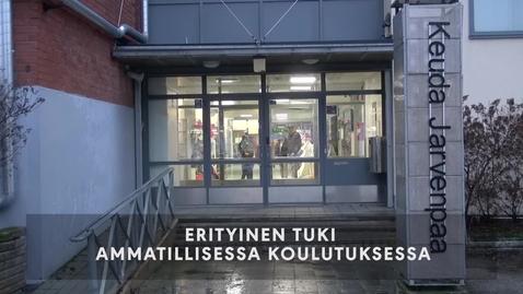 Thumbnail for entry Erityinen tuki ammatillisessa koulutuksessa