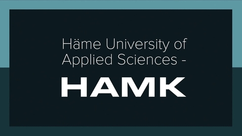 Thumbnail for entry Häme University Of Applied Sciences - Engineering Degrees