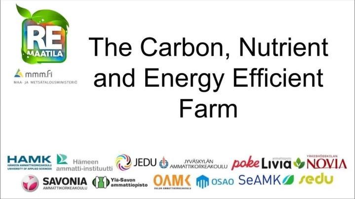 Thumbnail for channel Ravinne- ja energiatehokas maatila
