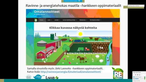 Thumbnail for entry Omalannoitteet -oppimateriaali toisen asteen opetukseen Sanna Söderlund, Baltic Sea Action Group / Livia