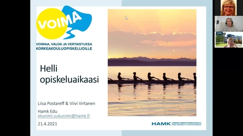 Thumbnail for entry Helli opiskeluaikaasi