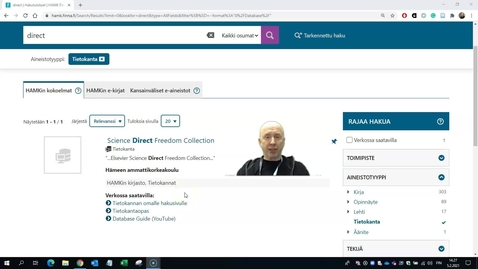 Thumbnail for entry Science Directin käytön ohjevideo