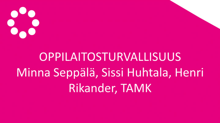 Thumbnail for channel OPPIJAN OIKEUS - OPETTAJAN TAITO