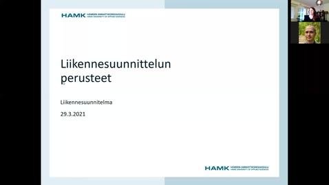 Thumbnail for entry Liikennesuunnitelman laadinta, aloitusohjeet 29.3.2021