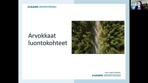 Thumbnail for entry Arvokkaat luontokohteet/ Pauliina 22.2.2021