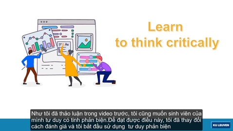 Thumbnail for entry Part 4: Making thinking explicit strategy, organizing in-class and online discussion (subtitled in Vietnamese)