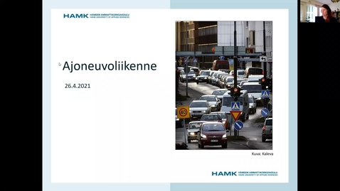 Thumbnail for entry Ajoneuvoliikenne/ 26.4.2021