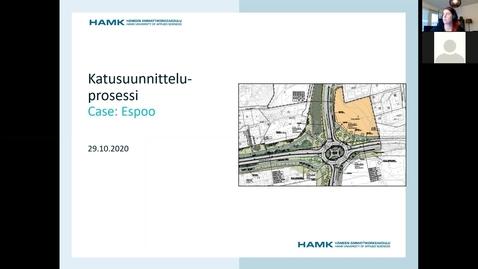 Thumbnail for entry Luento: Katusuunnitteluprosessi, 29.10.2020/ Pauliina Kuronen