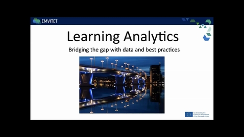 Thumbnail for entry Learning Analytics