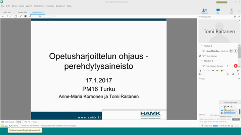 Thumbnail for entry OhjaavatOpet17012017