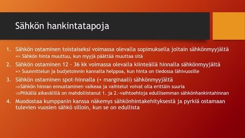 Thumbnail for entry Tuotannontekijöiden hallinta, 3. osa, 11.3.2020