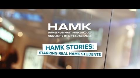 Thumbnail for entry HAMK Stories