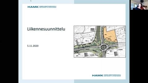 Thumbnail for entry Luento: Johdatus liikennesuunnittelu 5.11.2020