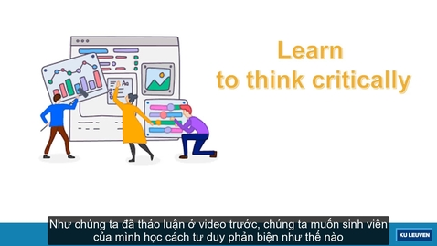 Thumbnail for entry Part 2. Making thinking explicit strategy, how to change assessment (subtitled in Vietnamese)