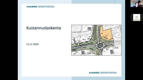 Thumbnail for entry Luento: Johdanto kustannuslaskentaan ja Fore-ohjeet 12.11.2020/ Pauliina & Nita Joro