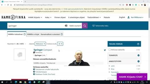 Thumbnail for entry Springer Compactin käytön ohjevideo