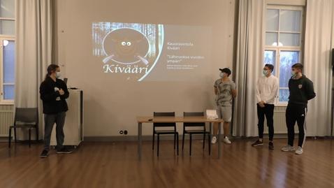 Thumbnail for entry FoodBizz2020, T2-Kivääri