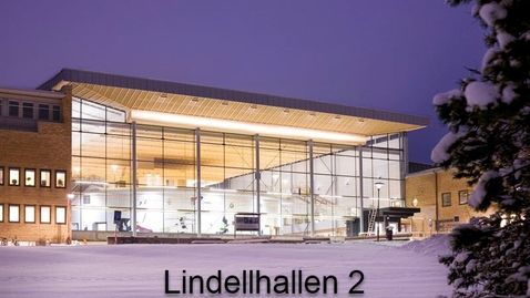 Thumbnail for entry Lindellhallen 2