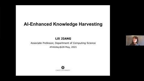 Thumbnail for entry Lili Jiang: AI-Enhanced Knowledge Harvesting