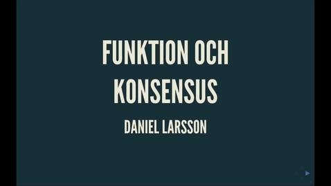 Thumbnail for entry Durkheim4:  Funktion och konsensus