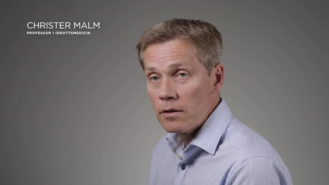 Thumbnail for entry Christer Malm - Professor i idrottsmedicin