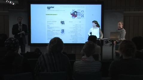 """Miniatyr för inlägg 110412 Pennlert & Lundin: """"Språkteknologi som litteraturvetenskapligt forskningsredskap"""""""
