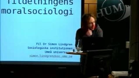 """Thumbnail for entry 061024 Lindgren: """"Fildelningens moralsociologi"""""""