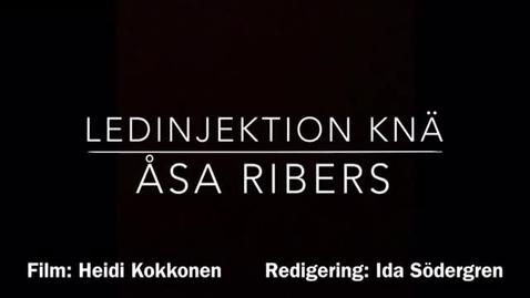 Thumbnail for entry T8 REUMA Ledinjektion knä