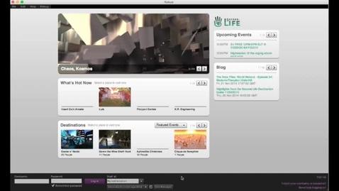 Thumbnail for entry Opensim-03-installning-inloggning