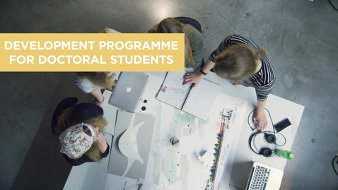 Thumbnail for entry Development programme