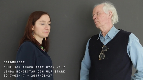 Miniatyr för inlägg Linda Bondestam och Ulf Stark @ Bildmuseet
