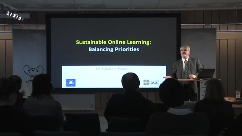 """Thumbnail for entry 110330 Power: """"Sustainable Online Learning: Balancing Priorities"""""""