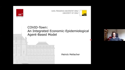 Thumbnail for entry Patrick Mellacher: COVID-Town: An Integrated Economic-Epidemiological Agent-Based Model