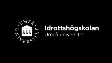 Thumbnail for entry Idrottshögskolan: Dubbla karriärer