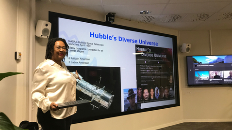 """Thumbnail for entry 191011 Holbrook: """"Diversifying Science One Film Project at a Time"""""""