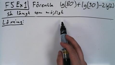 Thumbnail for entry Föreläsning 5b - Basfärdigheter i algebra