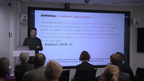 """Miniatyr för inlägg 191023 Purschke: """"Crowdsourcing in the humanities. Experiences from two participatory projects in Luxembourg"""""""