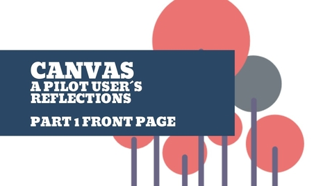 Thumbnail for entry Canvas front page