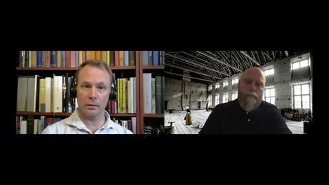 """Thumbnail for entry 201117 Sandell & Lernestål:  """"Grupp LXIV – En historisk utmaning"""""""