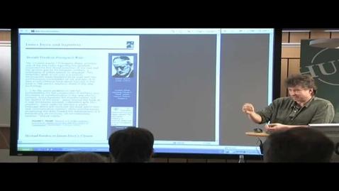 """Miniatyr för inlägg 070529 Hörnqvist: """"Nya media - från papyrus till cyberspace"""""""