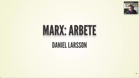 Thumbnail for entry Marx 2: Arbete (med högre ljud)