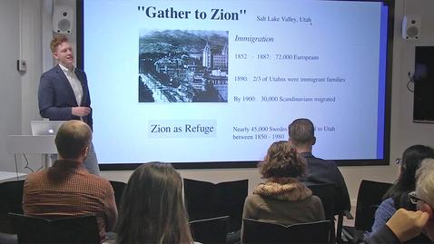 """Thumbnail for entry 181211 Feller: """"Making Zion, Making Media"""""""