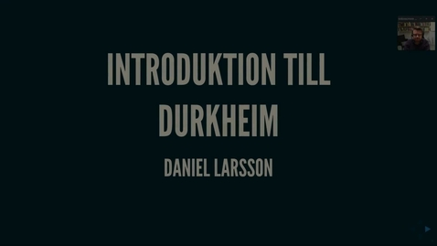 Thumbnail for entry Durkheim1_introduktion
