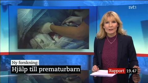 Miniatyr för inlägg Nyhetsinslag - Hjälp till prematurbarn